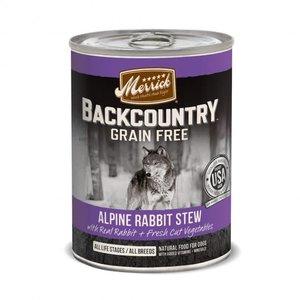 Merrick Merrick Dog Backcountry Can Alpin Rabbit 12.7oz Stew