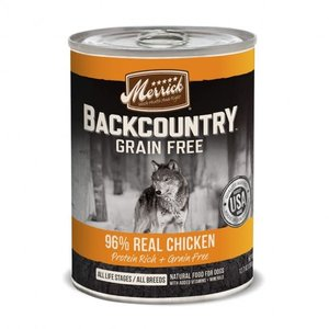 Merrick Merrick Dog Backcountry Can GF chicken 12.7oz