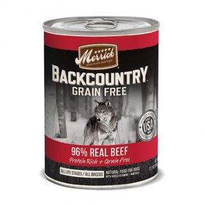 Merrick Merrick Dog Backcountry Can GF Chunky Beef 12.7oz