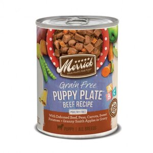 Merrick Merrick Puppy Plate Beef 12.7oz
