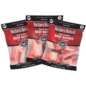 """Northwest Naturals NWN Beef Bone 4"""" 2pk"""