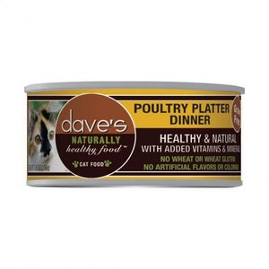 Dave's Dave's Cat Poultry Platter 5.5 oz