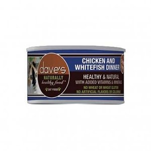 Dave's Dave's Cat Can Chic Whitefish 3oz