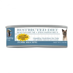 Dave's Dave's Cat Restricted Diet Pork Magnesium  5.5oz