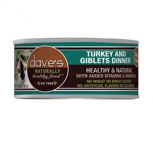 Dave's Dave's Cat Turkey Giblet 5.5oz