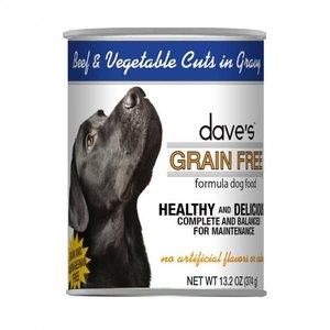 Dave's Dave's Dog GF Beef Veg in Gravy 13z