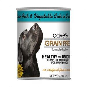Dave's Dave's Dog GF Can 13z Ocean Fish Veg