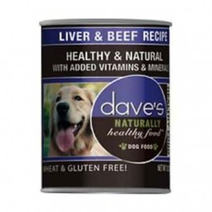 Dave's Dave's Dog Hlthy Can  Beef Liver 22oz