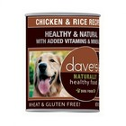 Dave's Dave's Dog Hlthy Can Chic Rice 13oz