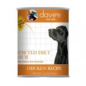 Dave's Dave's Dog Restrc Can Chic Low Sod 13oz