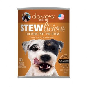 Dave's Dave's Dog Stewlicious GF Chic Pot Pie 13oz
