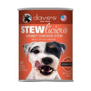Dave's Dave's Dog Stewlicious GF Chunky Chic Ste 13oz