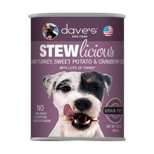 Dave's Dave's Dog Stewlicious Turk Cra Swt Pot GF 13oz
