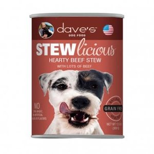 Dave's Dave's Dog Stewlicous Hearty Beef 13oz