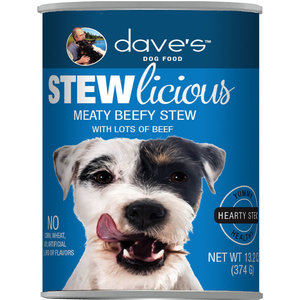 Dave's Dave's Dog Stewlicous Meaty beef 13.2oz