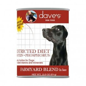 Dave's Dave's Dog Restricted Phosph/ Low Prot. Farmyard 13oz
