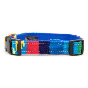 Auburn A Tail We Could Wag Fiesta Collar