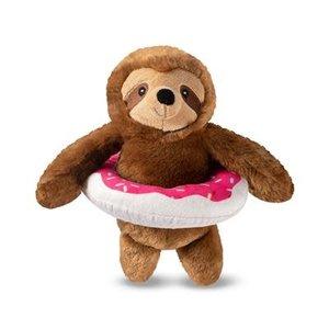 Fringe Donut Worry Pool Sloth Toy