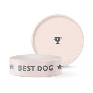 Fringe Best Dog Ever Wax Relief Bowl med