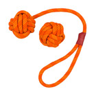 Tall Tails TTLS Tall Tails Floating Rope & Ball Orange 2pc