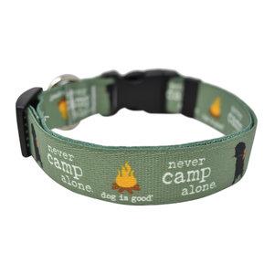 Yellow Dog Designs Yellow Dog Never Camp Alone Collars