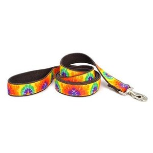 Earthdog Earthdog Hemp 4' Leash Zander Tie Dye