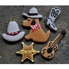 Taj Ma-Hound Bakery Taj Cowboy Boot Cookie