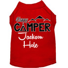 Mirage Pet Products Mirage Happy Camper Jackson Hole Dog T-shirt