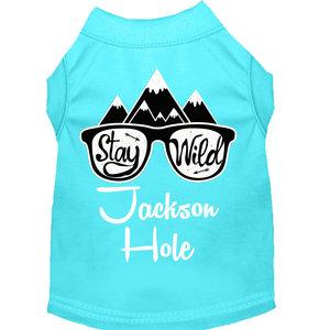 Mirage Pet Products Mirage Stay Wild Jackson Hole Dog T-shirt