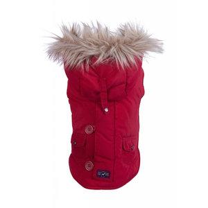 Fabdog Fab Dog Red Snorkel Jacket