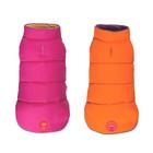 Fabdog Fab Dog Reversible Puffer Hot Pink/Orange