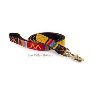 "Sun Valley Holiday Leash 1/2 ""w x  4'"