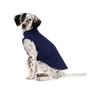 Gold Paw Gold Paw Single Layer Fleece Navy