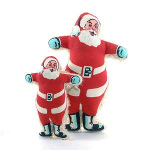 """Harry Barker Vintage Santa Toy 7"""""""