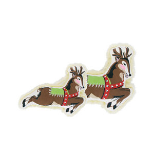 """Harry Barker Vintage Reindeer Toy 11"""""""