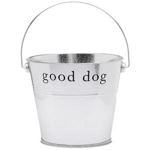 Harry Barker Silver Good Dog Bucket