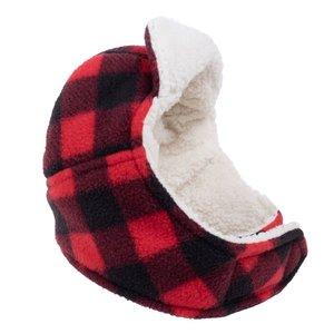Worthy Dog Worthy Aviator Hat  Buffalo Plaid
