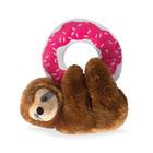 Fringe DonutLeave Me Hanging Sloth Toy