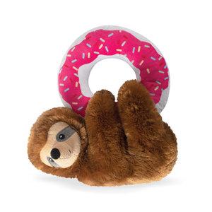 Fringe Donut Leave Me Hanging Sloth Toy
