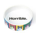 "Grumpy Cat Pop Art Bowl 5"" shallow"