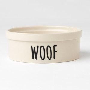 Urban Woof Crock Bowl Natural 2c