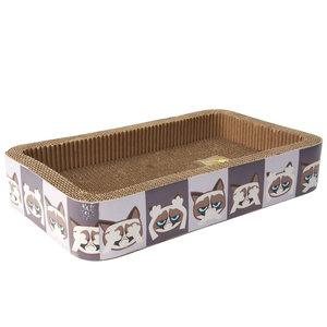 Grumpy Cat Corrugated Scratcher