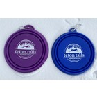 "Collapsible Pet Bowls 7"" Teton Tails logo"