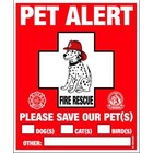 Rescue Rover Safety Window Decal 2pk