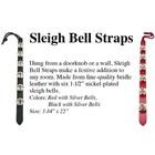 Auburn Auburn Sleigh bell Strap  Black
