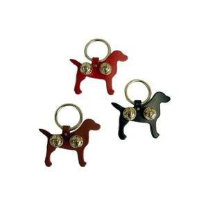 Auburn Auburn Bell Door Hangers Leather Labrador