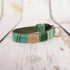 Bella Bean Finnegan Standard Cloth Turquoise Serape Collars