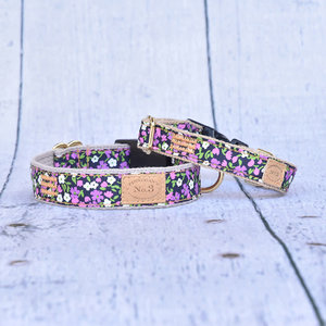 Bella Bean Finnegan Standard Cloth Lilac Floral Collars