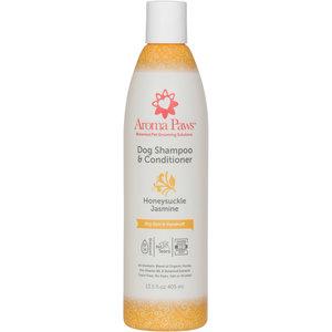 Aroma Paws Shampoo Honeysuckle 13.5z dry skin & dandruff