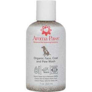 Aroma Paws Organic Face, Coat & Paw Wash 7oz